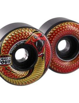 Spit Fire F4 Radial Slims Night Red 101 D - Black 54 mm